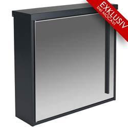 briefkasten design design briefkasten mocavi box 102 edelstahl anthrazitgrau ral 7016 wandbriefkasten 12 liter