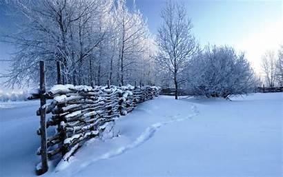 Winter Scenes Snow Scene Wallpapers Desktop Nature