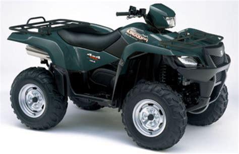 Suzuki King 700 Parts by Suzuki King 700 2004 2005 Service Manual