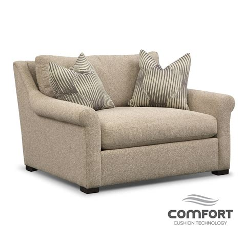 robertson comfort chair and a half value city furniture