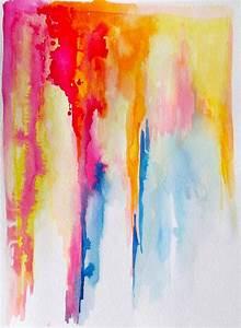 Art Abstract Watercolor Landscape Painting - LanasArt ...
