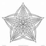 Shapes Geometrical Drawing Geometric Coloring Pages Getdrawings Adults sketch template