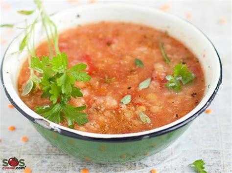sols cuisine spicy lentil soup a soscuisine recipe