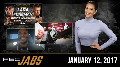 pbc jabs laces   gloves   action packed weekend