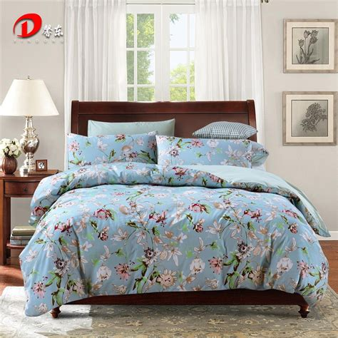 Luxury Satin Bed Linen Egyptian Cotton Bedding Set King