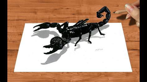 pencil drawing emperor scorpion   draw animals