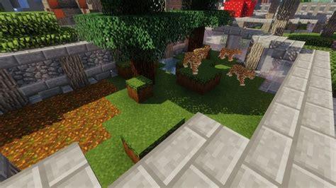 zoo wild animals rebuilt mod  minecraft