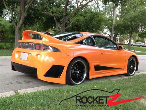 1995 Mitsubishi Eclipse Parts by Eclipse 95 99 Gsx T Style Spoiler Rocketz Autosport