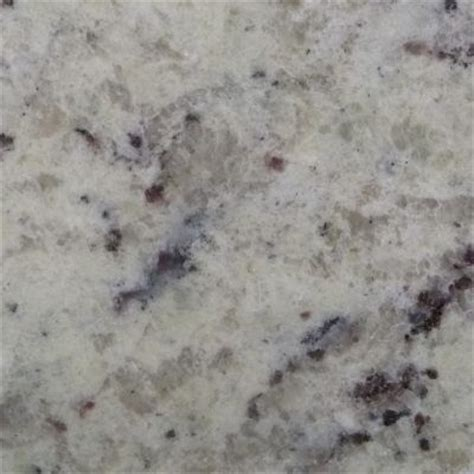 white ornamental granite kitchen