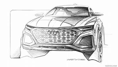 Audi Concept Q8 Sketch Drawing Sketches Suv