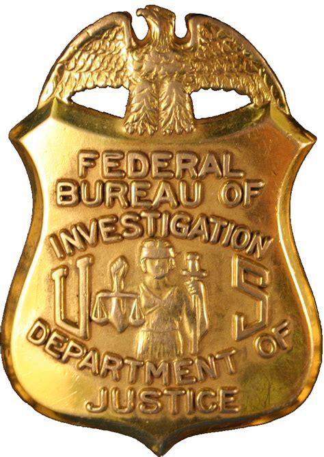 fbi bureau file badge of the federal bureau of investigation png