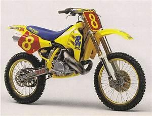 1990 Factory Suzuki Rm250
