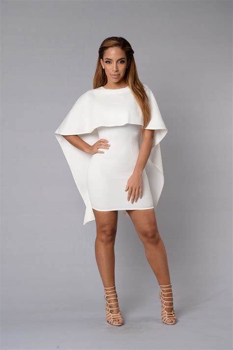Cape May Dress - White