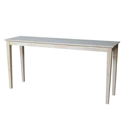 restoration hardware sofa table unfinished sofa tables la musee com