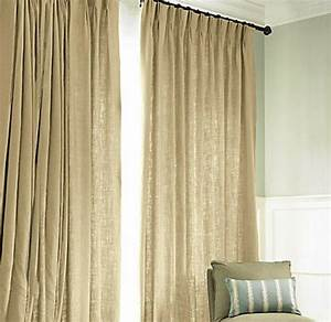 Rideaux En Lin Naturel : rideau lin naturel ~ Dailycaller-alerts.com Idées de Décoration