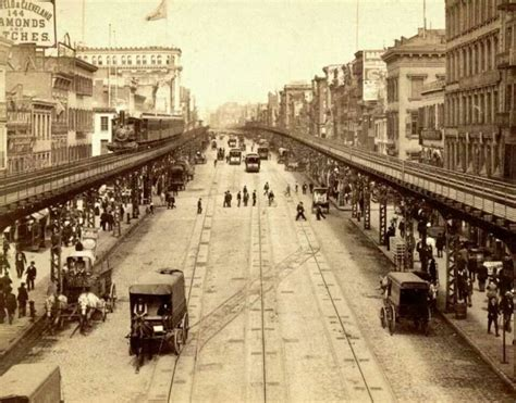 New York 1895 The Bowery
