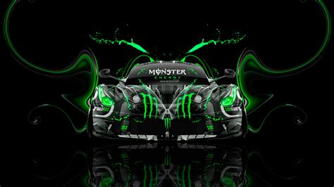monster energy ferrari laferrari front plastic car