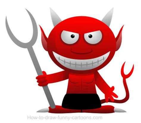 drawing  devil cartoon