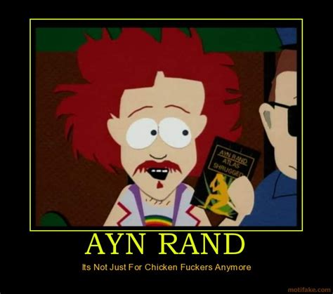 Ayn Rand Meme - whittaker chambers on ayn rand arun with a view