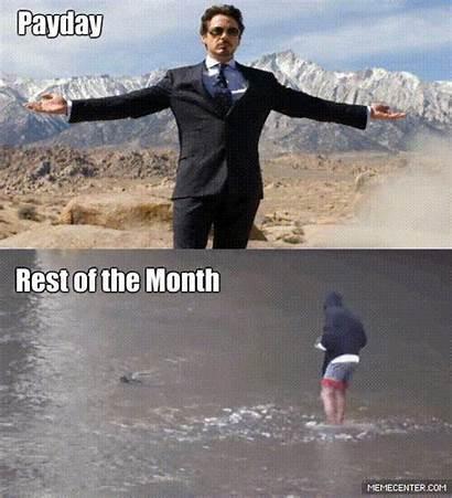 Money Having Payday Funny Month Broke Joke