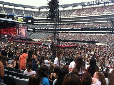 Metlife Stadium Concert Seating Chart View