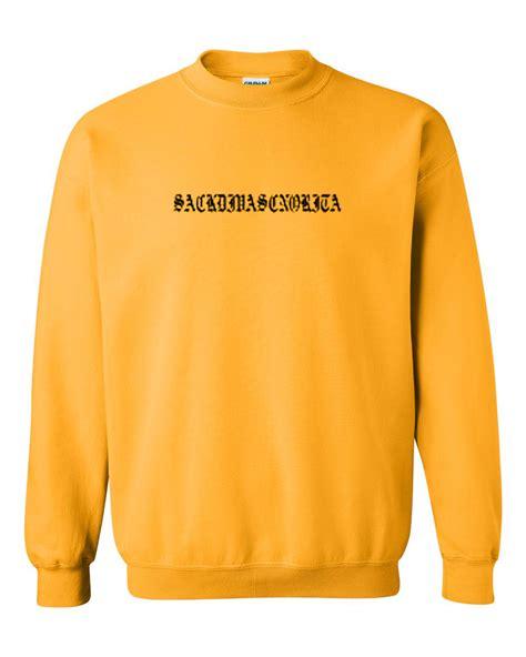 Yellow Sweat T Shirt grande yellow sweatshirt