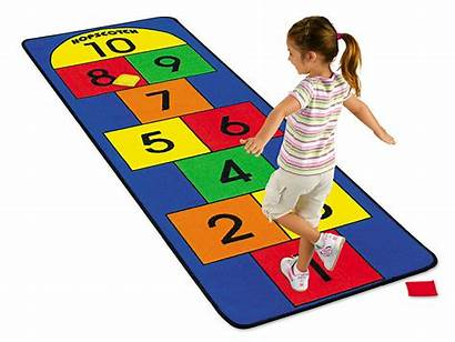 Hopscotch Lakeshore Carpet Learning Clipart Outdoor Classroom