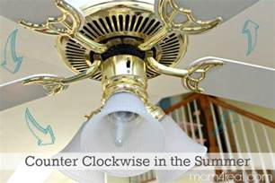 Ceiling Fan Counterclockwise Summer by Ceiling Fan Clockwise Or Counterclockwise In Winter