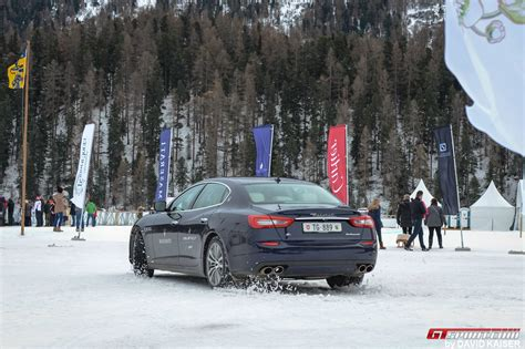 maserati snow team maserati is the winner of snow polo world cup st