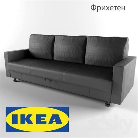 Ikea Sleeper Sofa Friheten by 3d Models Sofa Friheten Sofa Bed Ikea