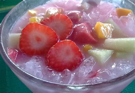 membuat es sop buah segar aneka resep