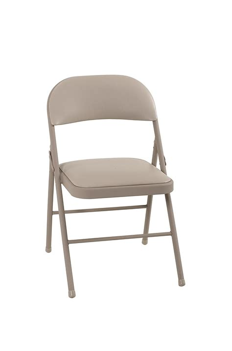 cosco products cosco vinyl folding chair antique linen