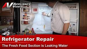 Samsung Rf268abbp Refrigerator Repair  U2013 Fresh Food Section Is Leaking Water  U2013 Sensor