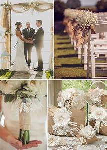 Burlap wedding decorations and ideas for Burlap decorations for weddings