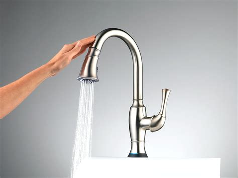 touch activated kitchen faucet touchless faucet kitchen review besto