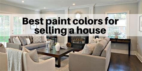 paint colors  selling  house