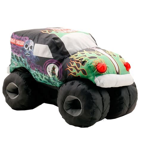 grave digger monster truck toys grave digger puff truck