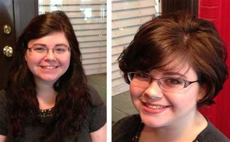 25 Pretty Short Hairstyles For Chubby Round Faces