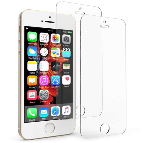 19471 tempered glass screen protector iphone 5 iphone 5 5s se tempered glass screen protector pack 19471
