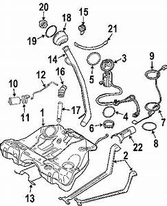2003 Volvo Xc90 T6  6 Cyl 2 9l B6294t  Fuel System Components
