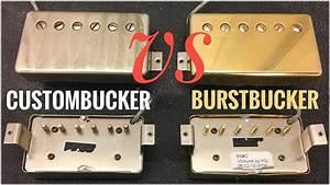 Custombucker Vs Burstbucker - Humbucker Comparison