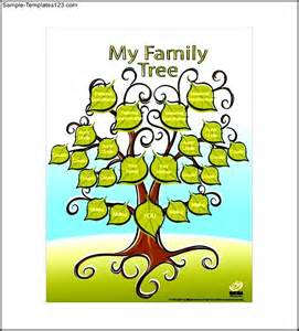 Family Tree Template Kids