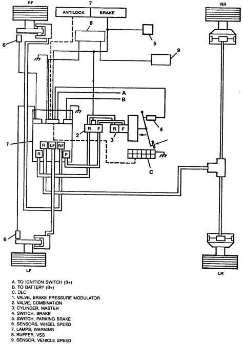 repair anti lock braking 1996 bmw 7 series parking system repair guides