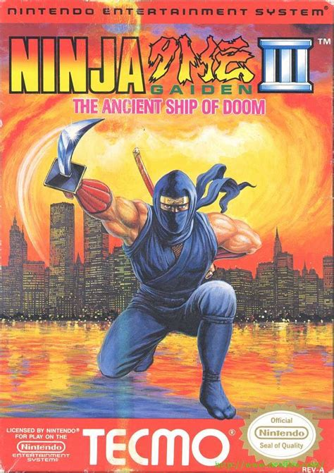 Ninja Gaiden Iii The Ancient Ship Of Doom The Only Game
