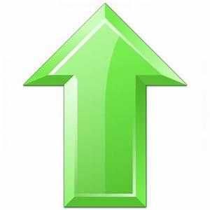 IconExperience » V-Collection » Arrow Up Green Icon