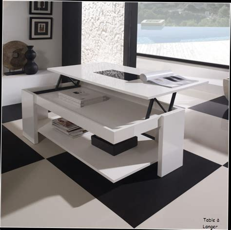 tables cuisine conforama table basse relevable conforama