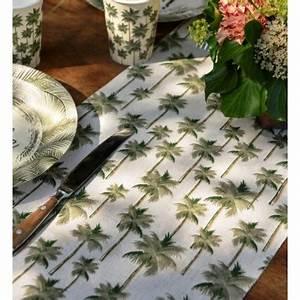 Chemin De Table Tropical : chemin de table jungle tropical coton 3 m achat chemins de table f tes ~ Melissatoandfro.com Idées de Décoration