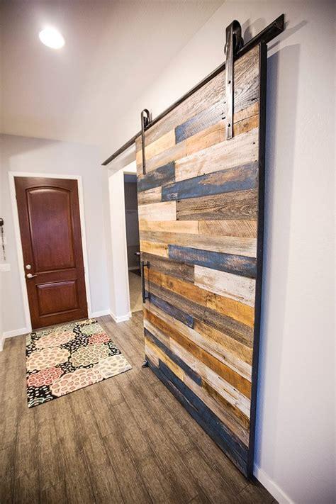 multi colored sliding barn door porter barn wood