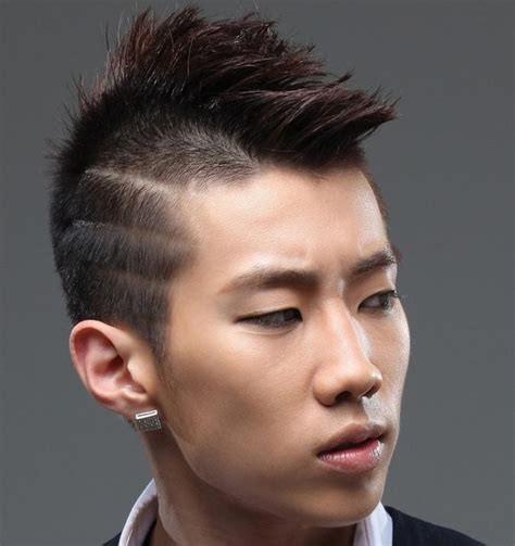 mohawk fade haircut      hawk