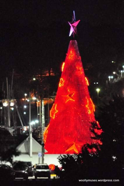 floating christmas tree geelong 2015 woollymuses